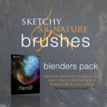 signature brushes blenders pack icon