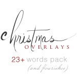 christmas overlays square logo