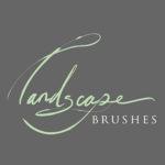 landscape brushes square icon small