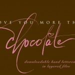 i love you more than choclate marketing